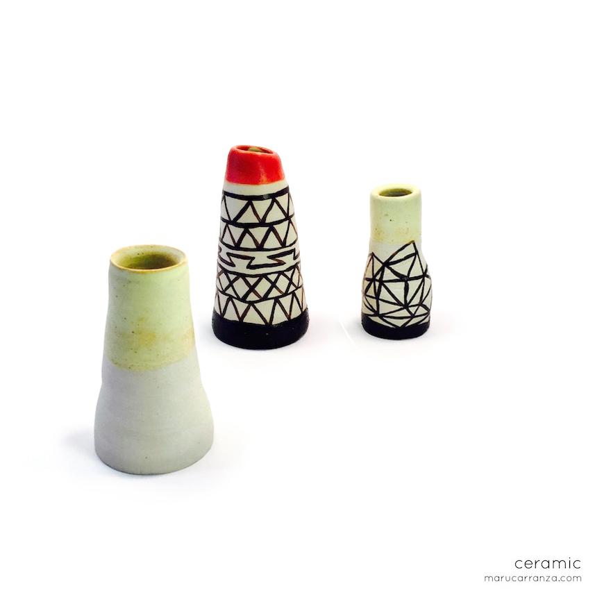 ceramic towers