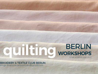 Quilting Minimal Patterns - Quilten Blocks in Berlin