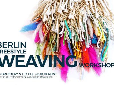Weaving Workshops Berlin - Loom Tapestry Telares Weben