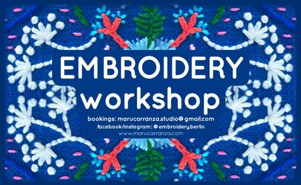 embroidery_berlin-workshop-december-quilting-weaving-quilt-stitching-feminist-frauen-blumen-flowers-stoffe-thread-sticken-marucarranza-weihnachten-xmas-christmas-navidad