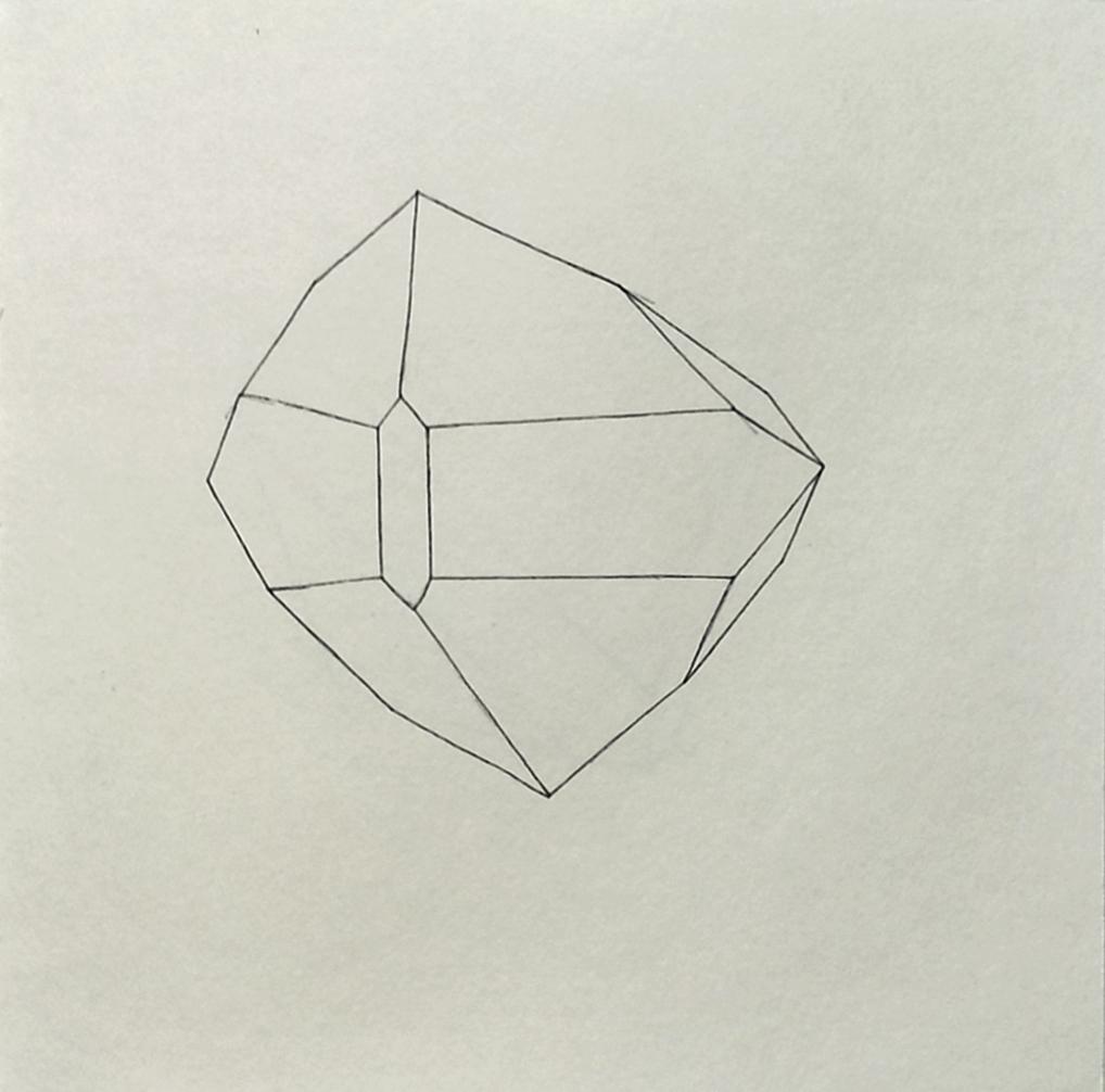 Gems drawings - Geometric lines